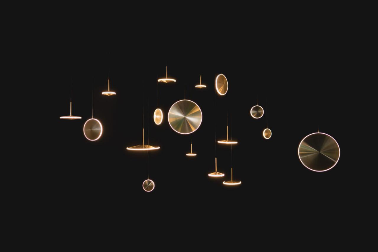 Chrona: A Celestial LED Pendant Series by Graypants