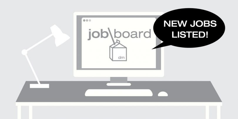New Design Milk Job Board Listings from HUSH, Any_ and Tinklabs