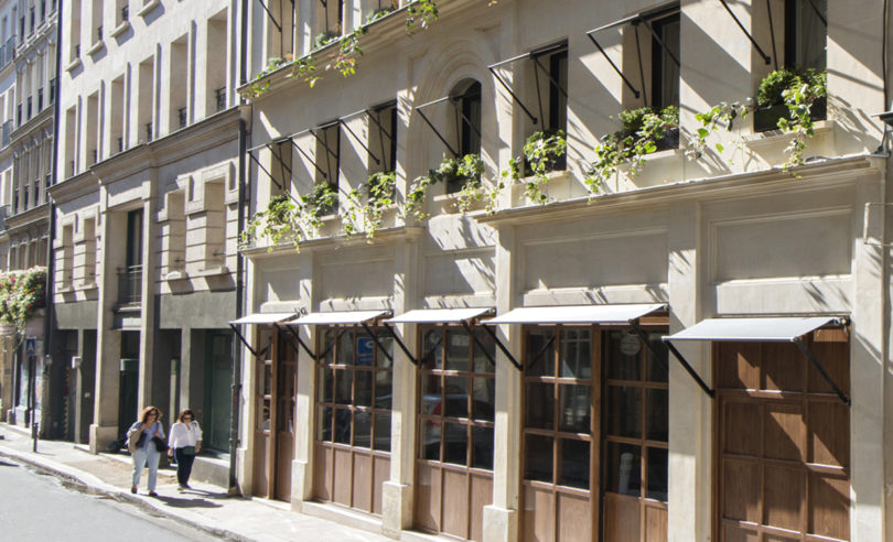 The h tel parister a refined boutique hotel in the middle for Hotel paris x