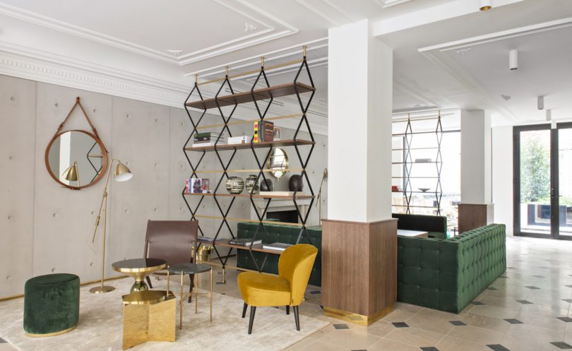 The Hôtel Parister: A Refined Boutique Hotel in the Middle of Paris' New Creative Neighborhood