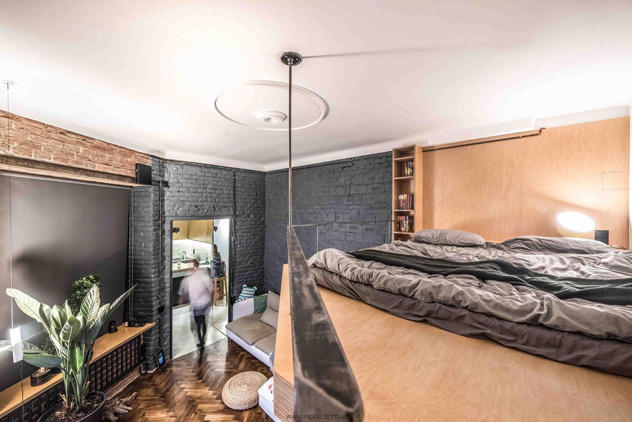 Little Flat Transformation in Lviv by replus design bureau