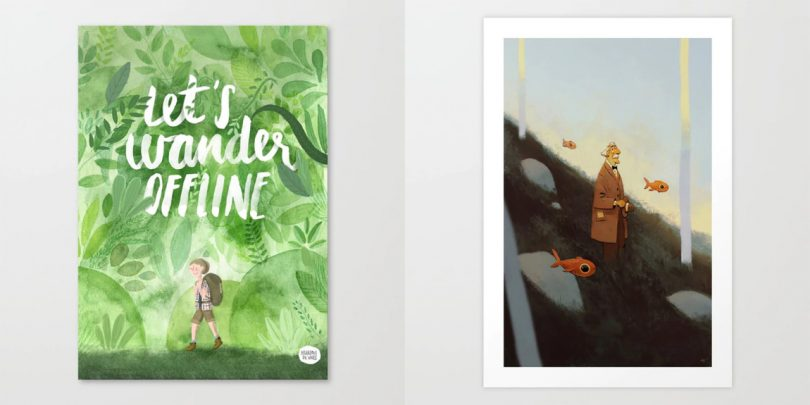 Fresh From The Dairy: Illustrative Art Prints