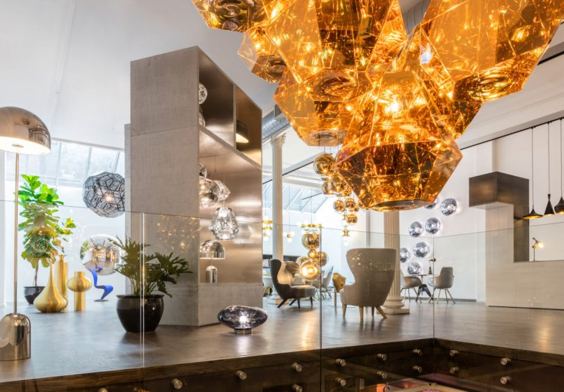 Tom Dixon's Plans for His New Showroom in New York's Soho Design District