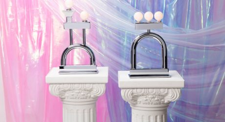 Another Human Debuts New Chrome Lamps with a Memphis Group Feel