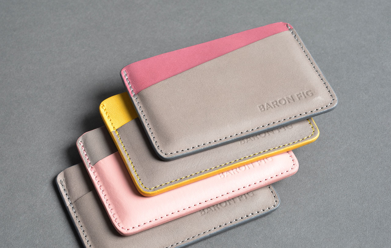 Baron Fig Launches Leather Card Sleeve Wallet