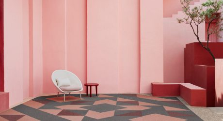 Form Us With Love X Shaw Contract = Inside Shapes Modular Flooring