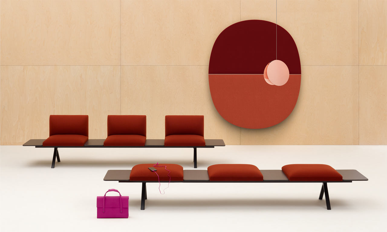 Kiik Modular Seating Collection by Iwasaki Design Studio for Arper