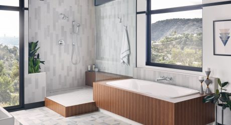 If James Bond Designed a Bathroom, It Just Might Look like This