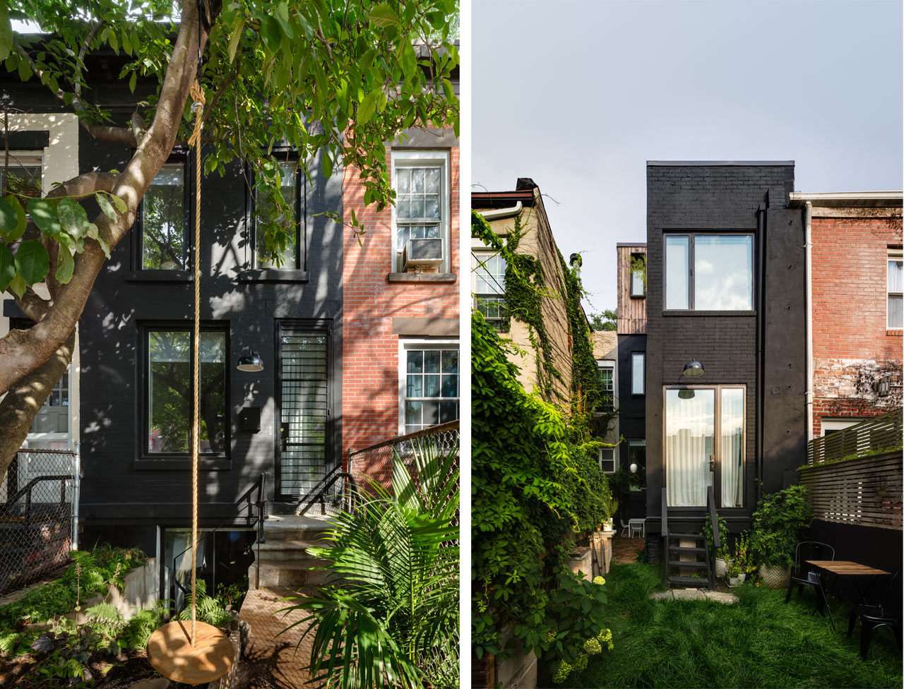 An 11-Foot-Wide Row House in Brooklyn by Office of Architecture