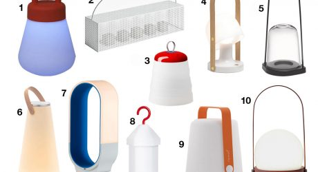 10 Modern Outdoor Lanterns That Will Light up Your Summer