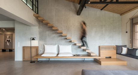 A Rural Apartment in Panorama, Greece by Normless Architecture Studio