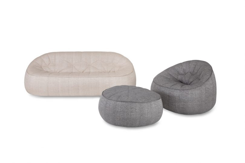 Ligne Roset and Sunbrella Come Together for the Ottoman Outdoor Collection by