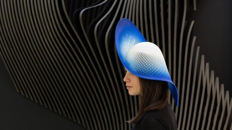 Zaha Hadid Architects' 3D Printed Hat Tops the Crowd
