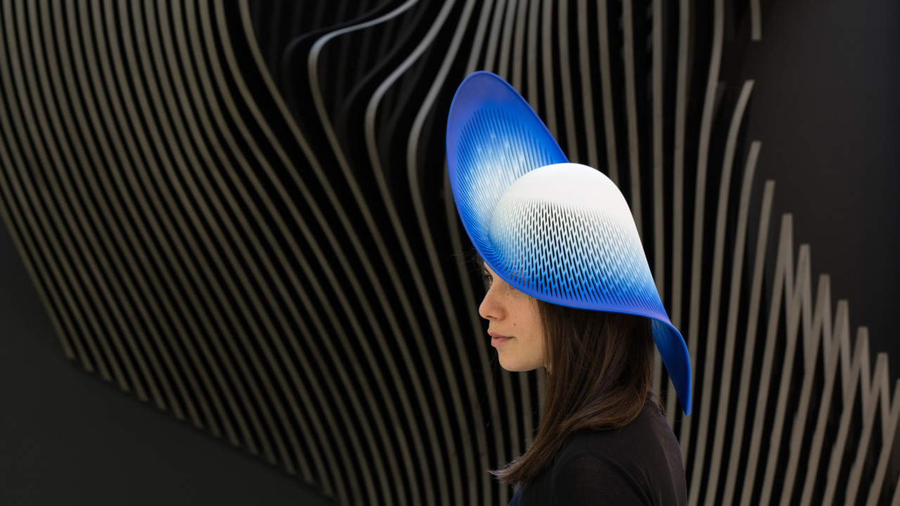 Zaha Hadid Architects' 3D Printed Hat Tops the Crowd