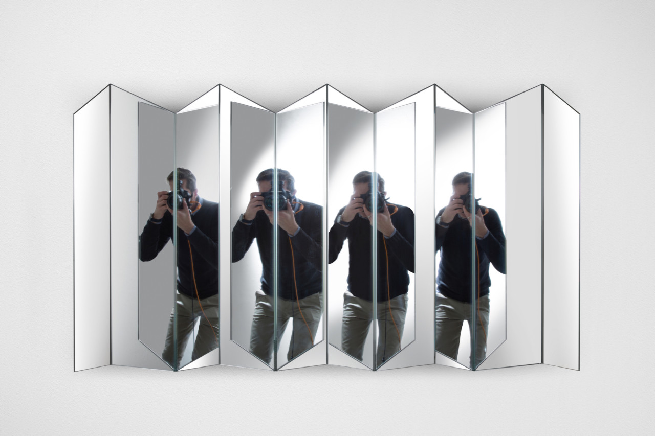 Five Mirrors, Infinite Reflections: Riflessioni by Marco Brunori for Adele-C