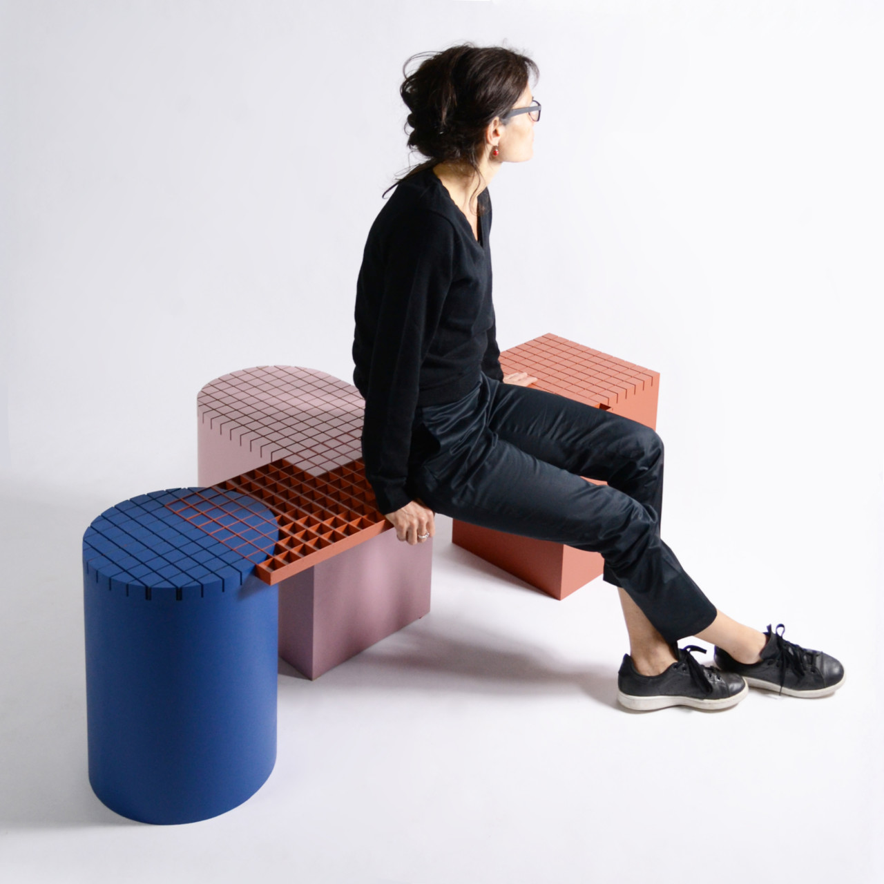 The Urban Grid Inspires nortstudio's Bench Series