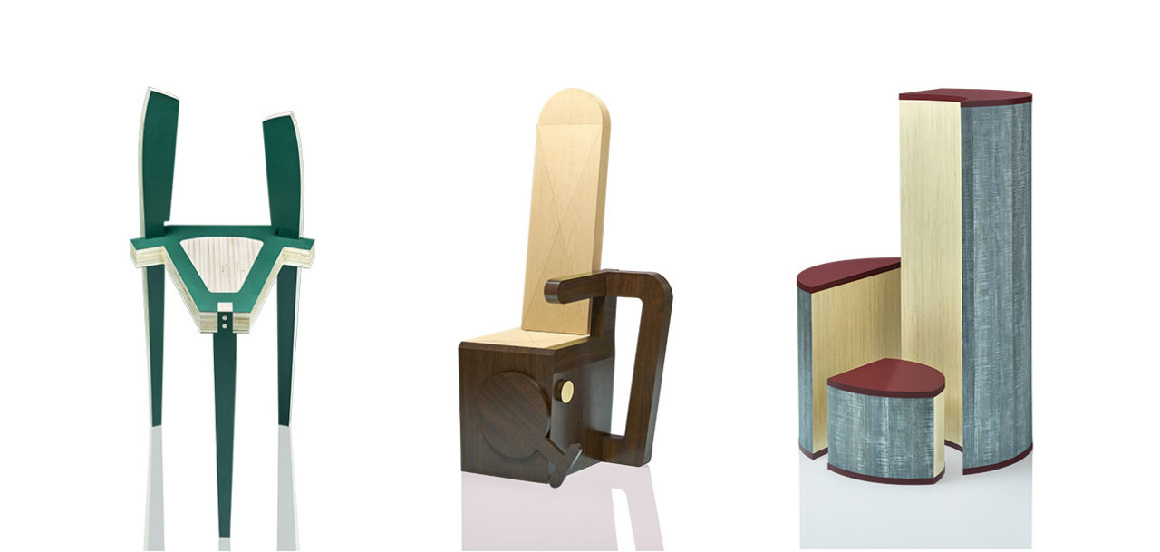 Six Unique Chair Designs from Wilsonart's 14th Annual Student Design Competition