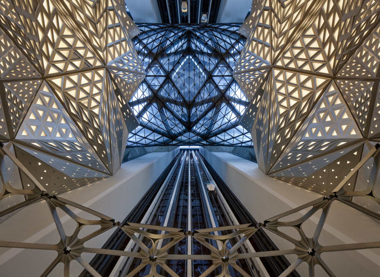 The Morpheus Hotel by Zaha Hadid Architects: The World's First High Rise Exoskeleton