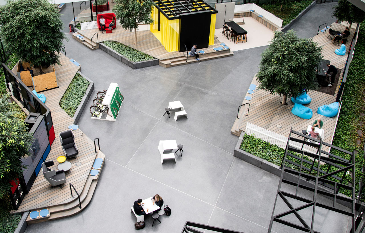 Adidas Valley's Colorful and Casual Workspace by Actincommon