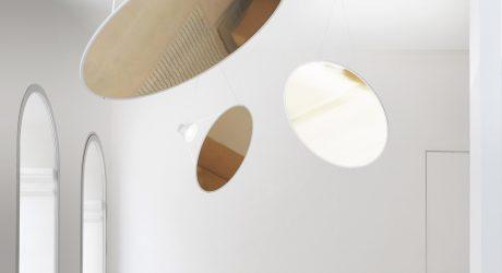 Amisol: A Large Pendant Lamp That Actually Takes up a Minimal Amount of Volume
