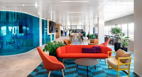 Hollandse Nieuwe Designs Happy Headquarters for a Funeral Insurance Company