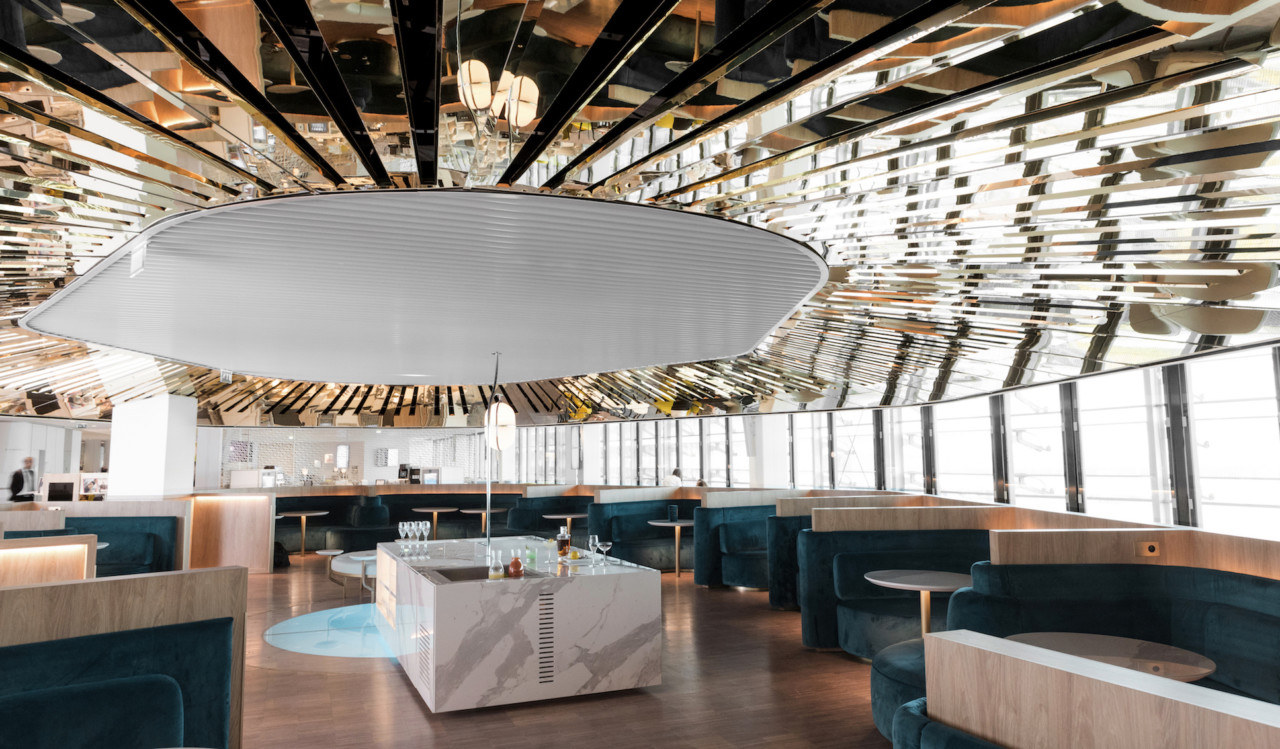 Mathieu Lehanneur Designs a Lounge Space That Makes You Want to Miss Your Flight