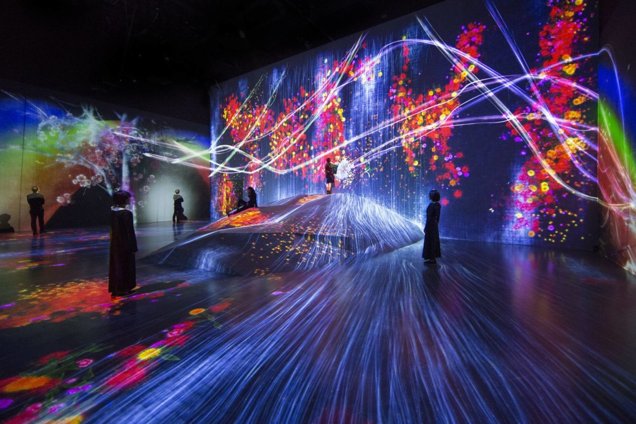 The World's First Digital Art Museum Opens in Tokyo