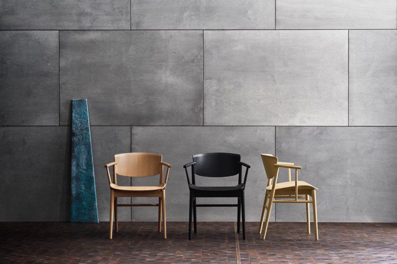Nendo's N01™ Chair Combines Japanese and Danish Design for Fritz Hansen