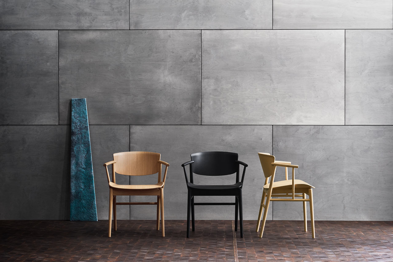 Nendo's N01™ Chair Combines Japanese and Danish Design for Fritz Hansen