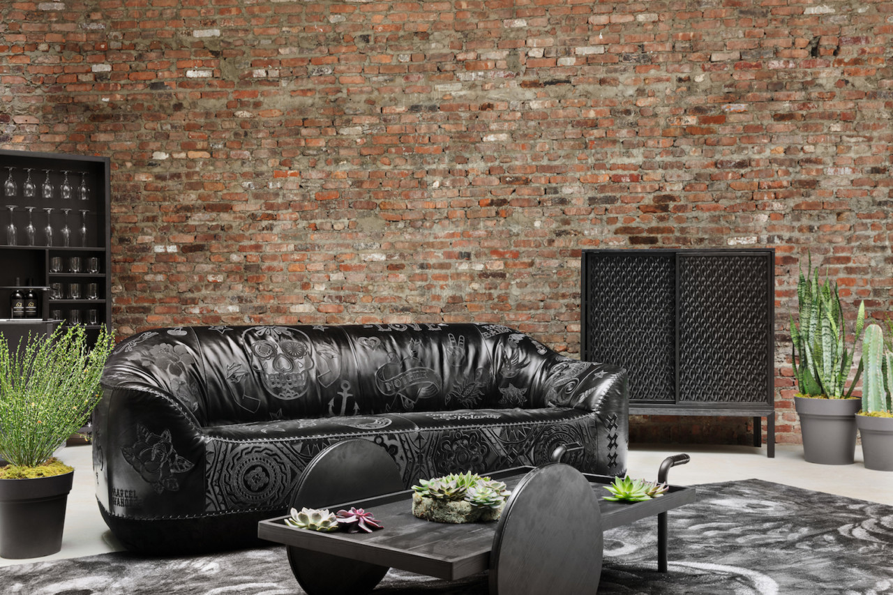 This Collection of Furniture by Marcel Wanders for Natuzzi Italia Is Inspired by Gotham City