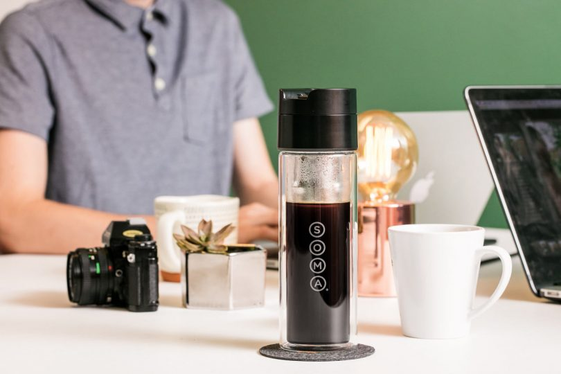 Soma Launches Brew Bottle for Coffee and Tea on the Go