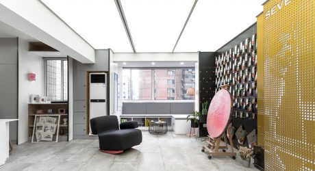 ARTLAND IN SHANGHAI: An Eclectic Apartment That Goes Outside the Box