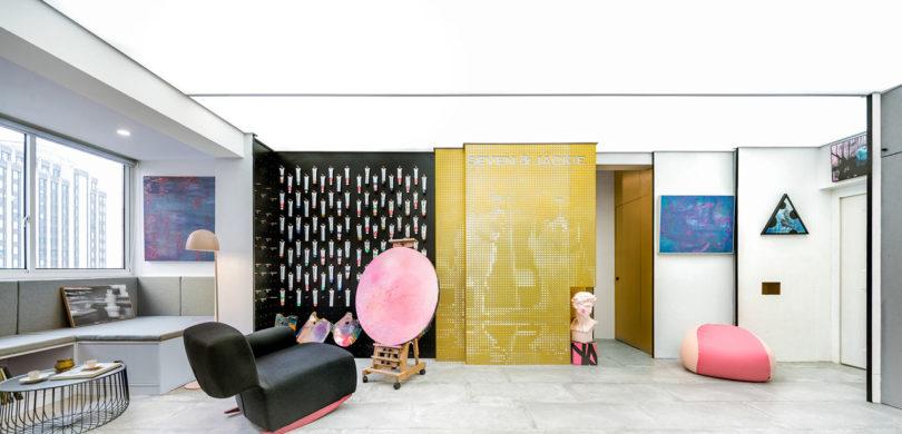ARTLAND IN SHANGHAI An Eclectic Apartment That Goes Outside The Box Adorable Interior Design Shanghai Creative