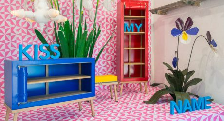 Truecolors: Bright and Colorful Zip-Up Furniture by Visser en Meijwaard