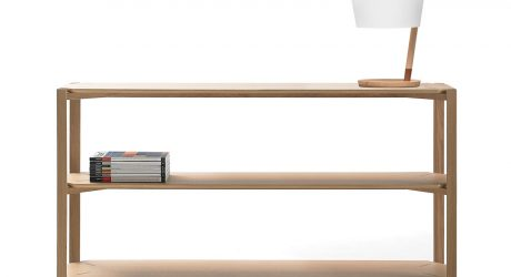 LaSelva Design Studio Designs the Delta Modular Shelving System for WOODENDOT