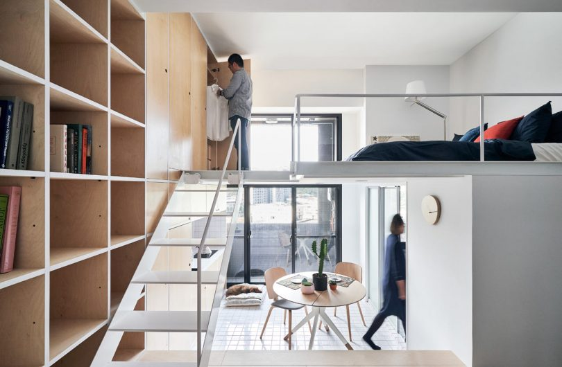 PhoebeSayswow Architects Designs a 33-Square-Meter Flat in Taipei