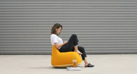 Yolk: A Playful Approach to the Traditional Rocking Chair by Daghum Kang