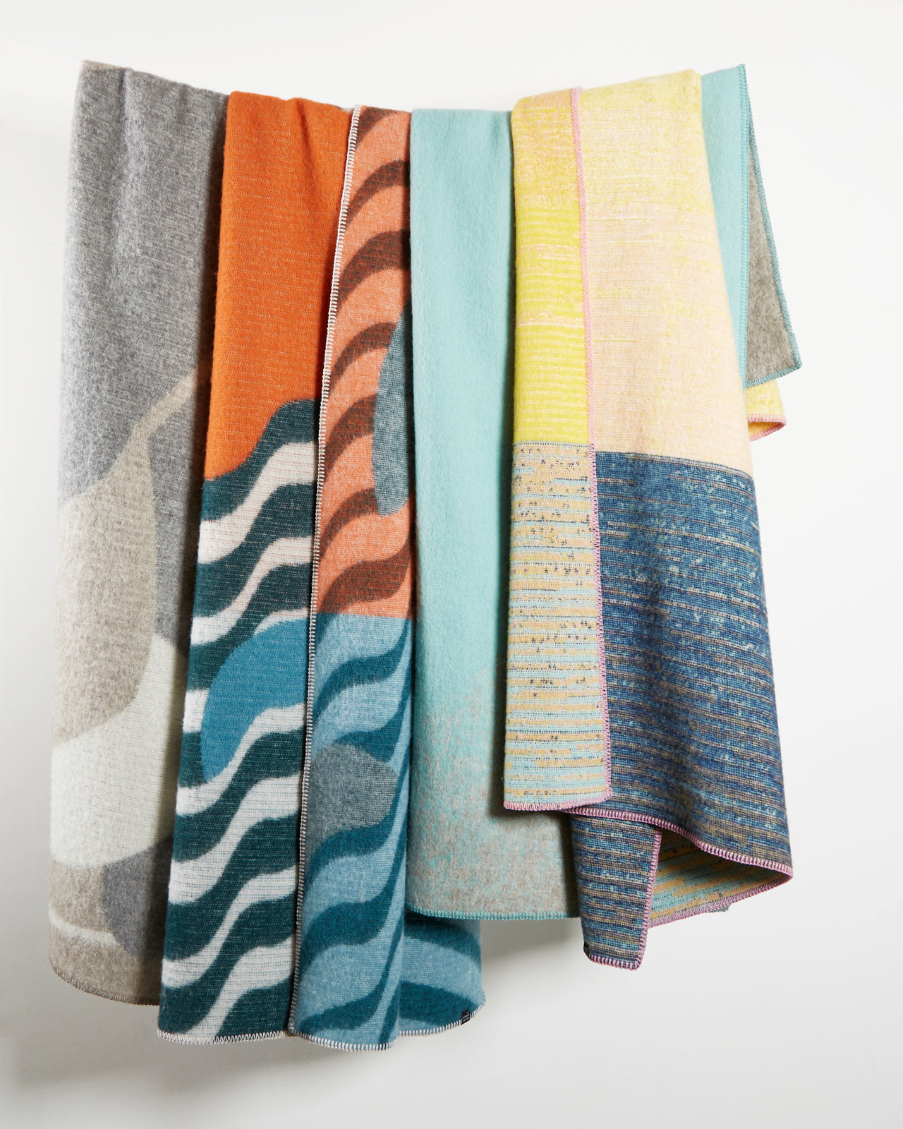 ZigZagZurich Introduces Artist Wool Blankets Inspired by Art