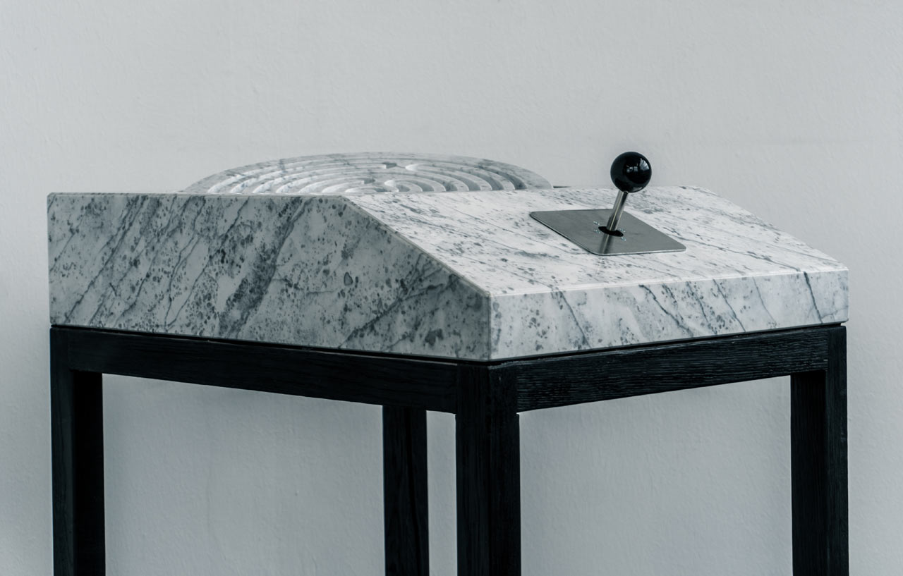 A Maze: An Analogue Marble Gaming Console by Marco Iannicelli