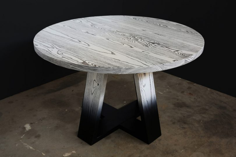 Aronson Woodworks Creates Unique Furniture That Highlights the Beauty of Wood Grain Patterns