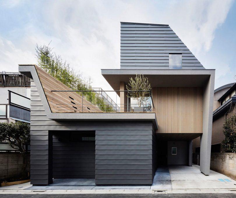 House in Minamiyukigaya by Hugo Kohno Architect Associates