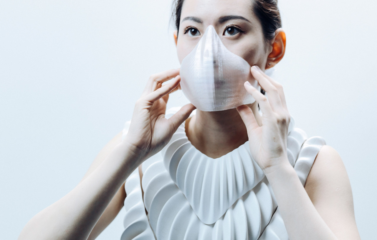 A 3D-Printed Garment Envisions an Underwater Future