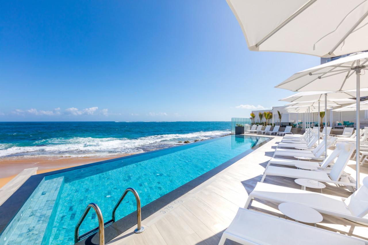 The Serafina Beach Hotel Celebrates the Sand and Surf Culture of San Juan, Puerto Rico