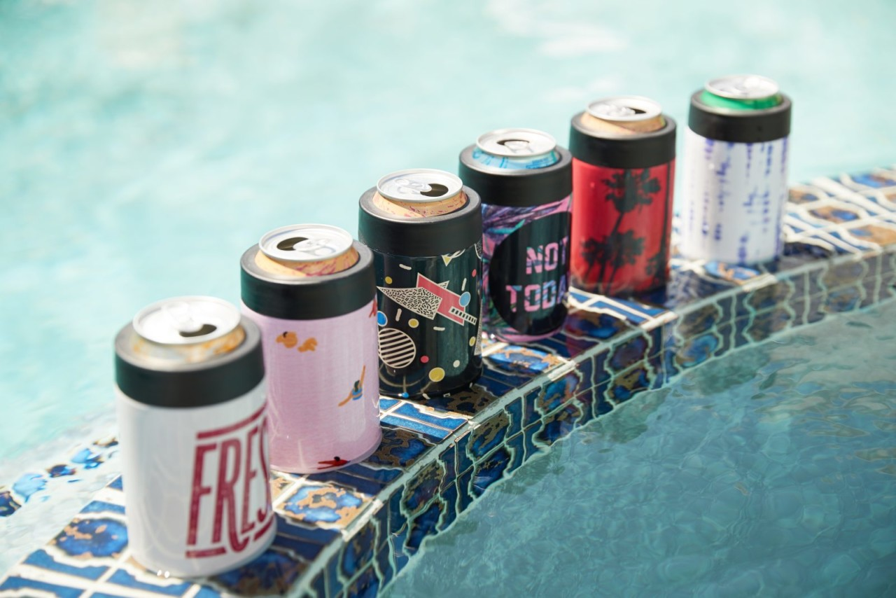Keep Cool + Hydrated with Society6's New Can Coolers