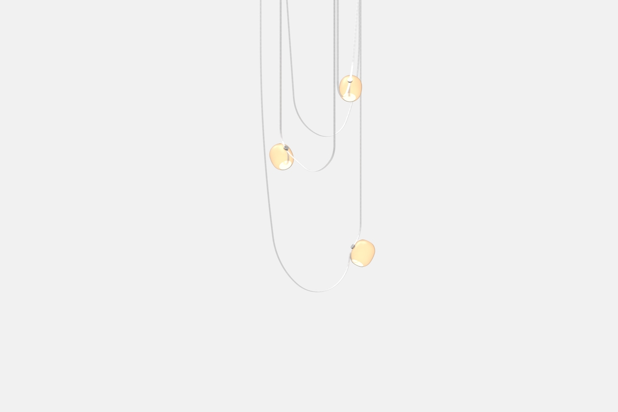 The Vitis Draped Chandelier by Rich Brilliant Willing