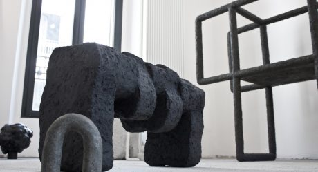 Stine Mikkelsen's Solid Formations Is Part Furniture, Part Sculpture