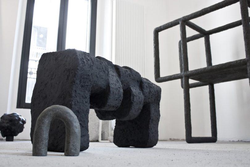 Stine Mikkelsen's Solid Formations Is Part Furniture, Part Sculpture