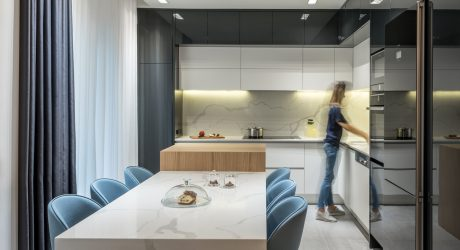 A Dated Greek Apartment Renovated to Make Room for a New Baby