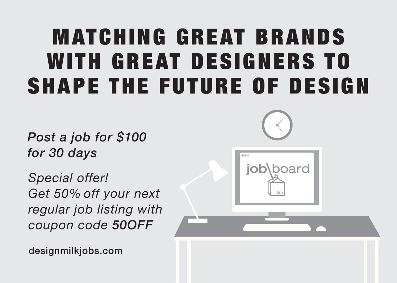 Special Deal from The Design Milk Job Board