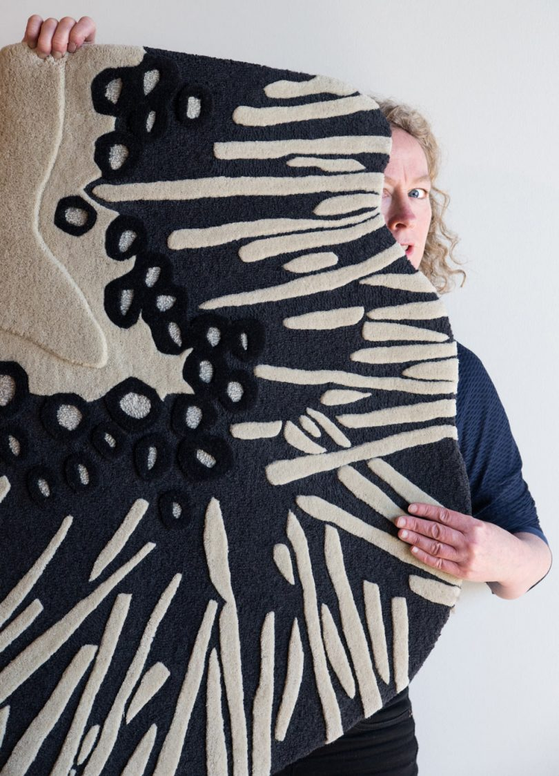 The Design Process Behind Angela Adams? Arenal Rug